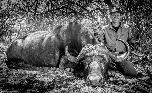 Razor Dobbs Kills Two Cape Buffalo with 10mm Auto Pistol